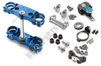 Factory triple clamp/steering damper kit -Husqvarna